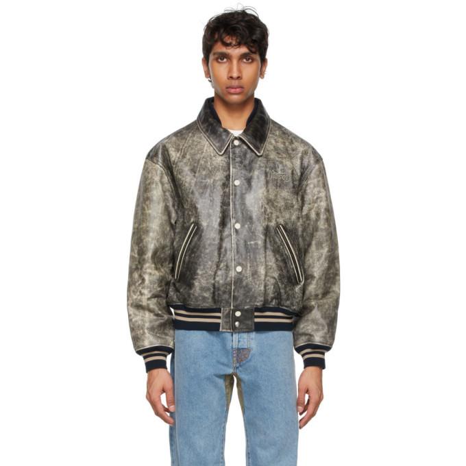 Photo: Diesel Black Leather D4D-2 Jacket
