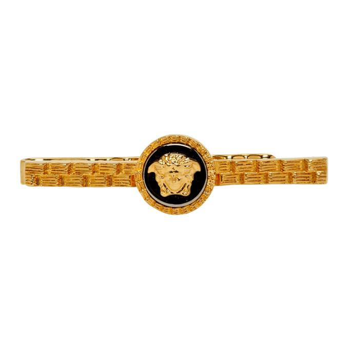 Photo: Versace Gold Medusa Tie Pin