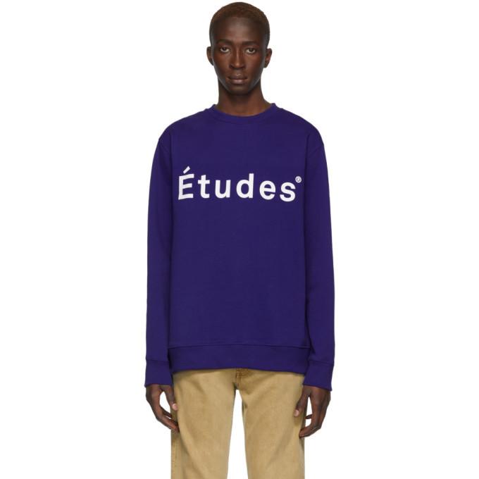 Photo: Etudes Blue Story Sweatshirt