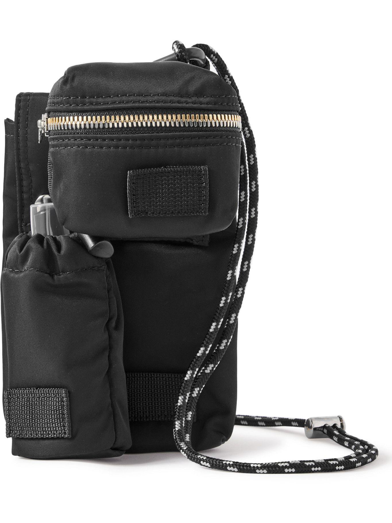 Sacai - Porter-Yoshida & Co Nylon Bag, Pouch and Bottle Holder Set