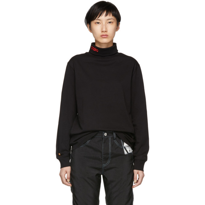 Photo: 032c Black WWB Turtleneck