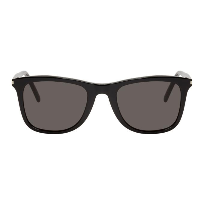Photo: Saint Laurent Black SL 304 Slim Sunglasses