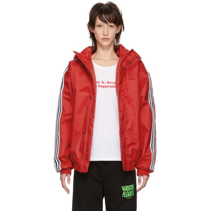 adidas Originals Red SST Stadion Jacket