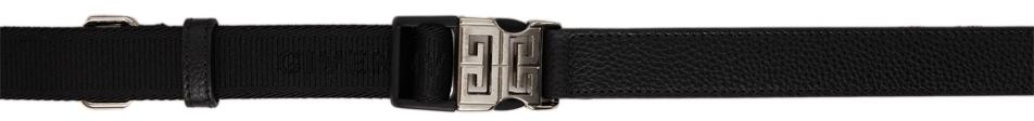 Photo: Givenchy Black 4G Release Buckle Belt