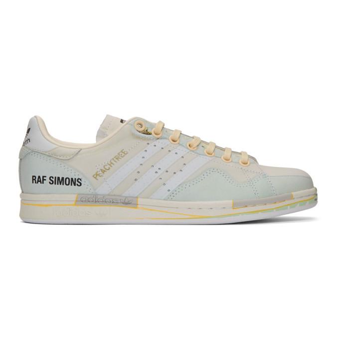 Photo: Raf Simons Off-White adidas Originals Edition Peachtree Stan Smith Sneakers