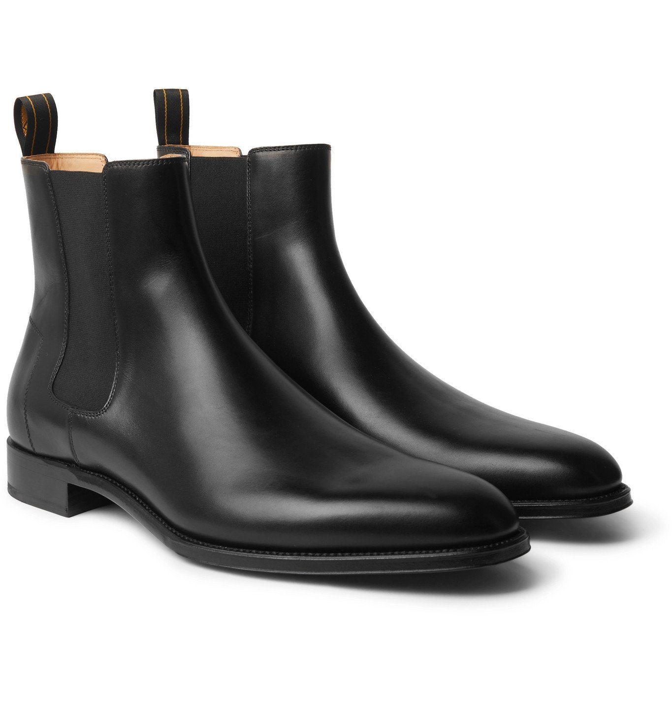 Dunhill - Leather Chelsea Boots - Black