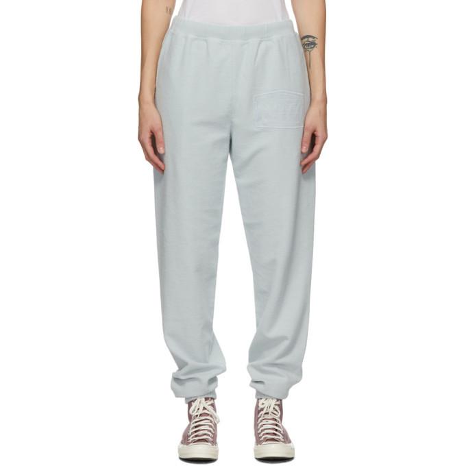 Photo: Aries Blue Reverse Fleece Lounge Pants