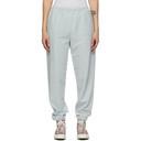 Aries Blue Reverse Fleece Lounge Pants