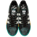 Raf Simons Black adidas Originals Edition Samba Stan Smith Sneakers