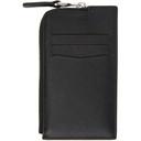 Dunhill Black Cadogan Zip Card Holder