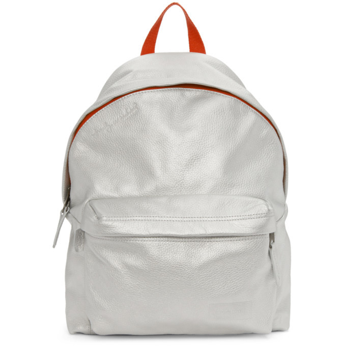 Photo: Eastpak Silver Andy Warhol Edition Padded Silver Can Pakr Backpack