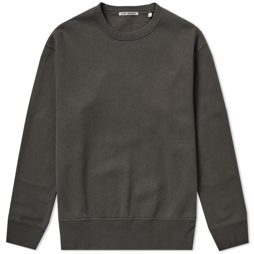Photo: Our Legacy Patch Crew Sweat Moss Pigment
