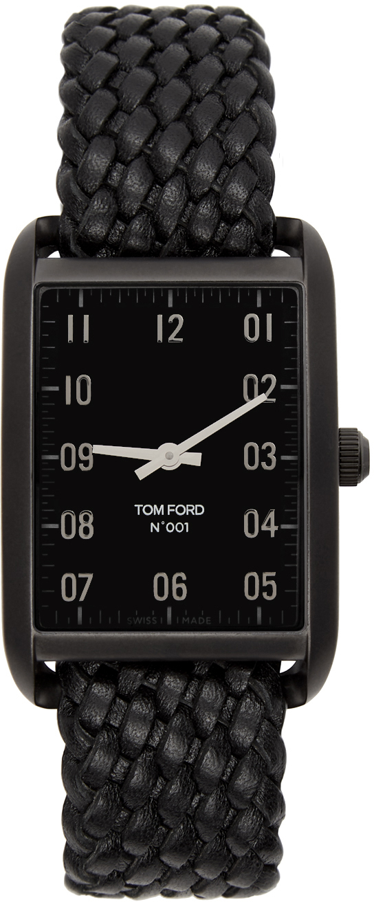 Photo: TOM FORD Black Leather 001 Watch