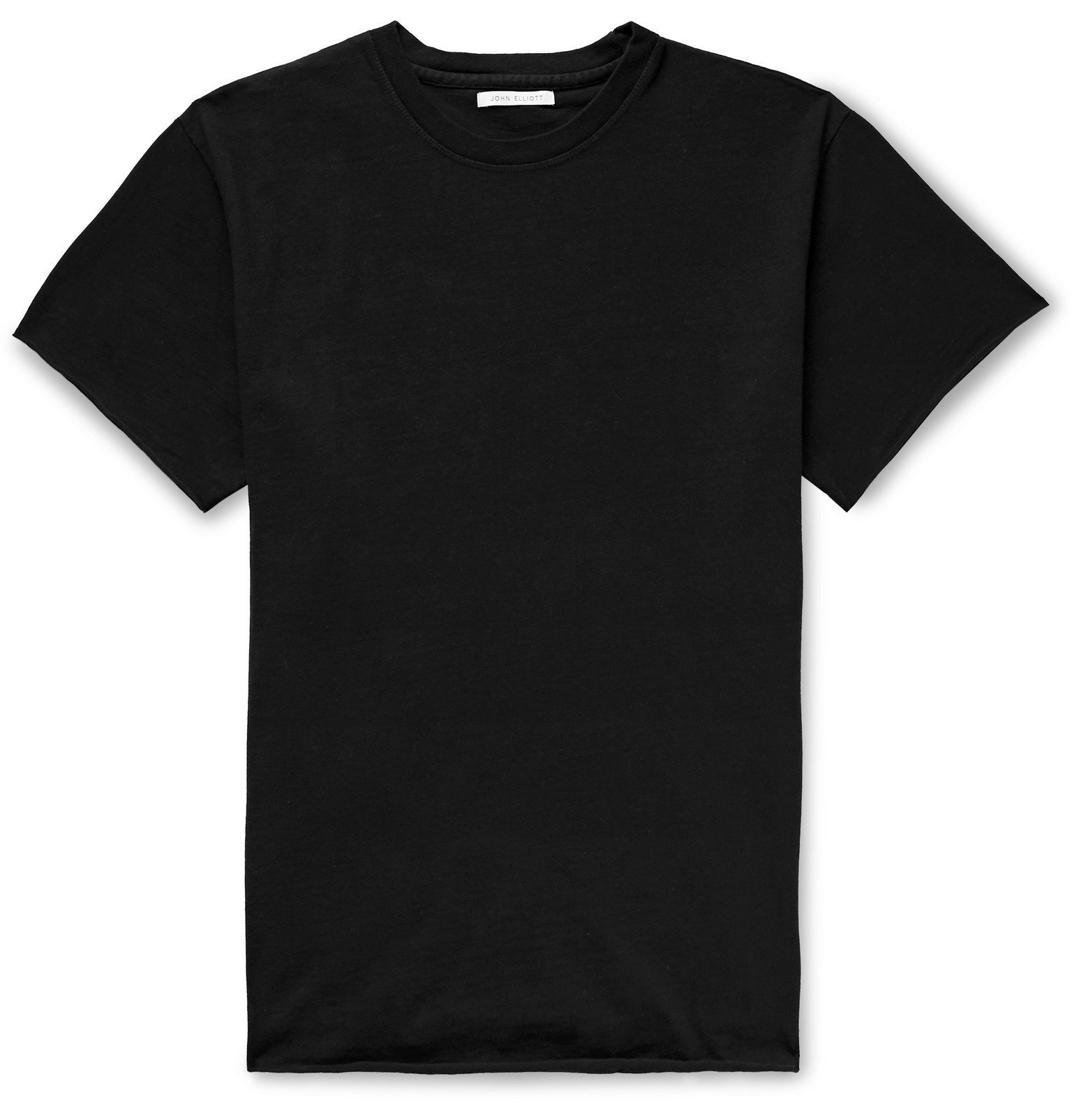 Photo: John Elliott - Anti Expo Cotton-Jersey T-Shirt - Black