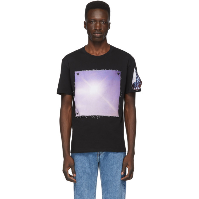 Photo: Raf Simons Black The xx Edition Pin Print T-Shirt
