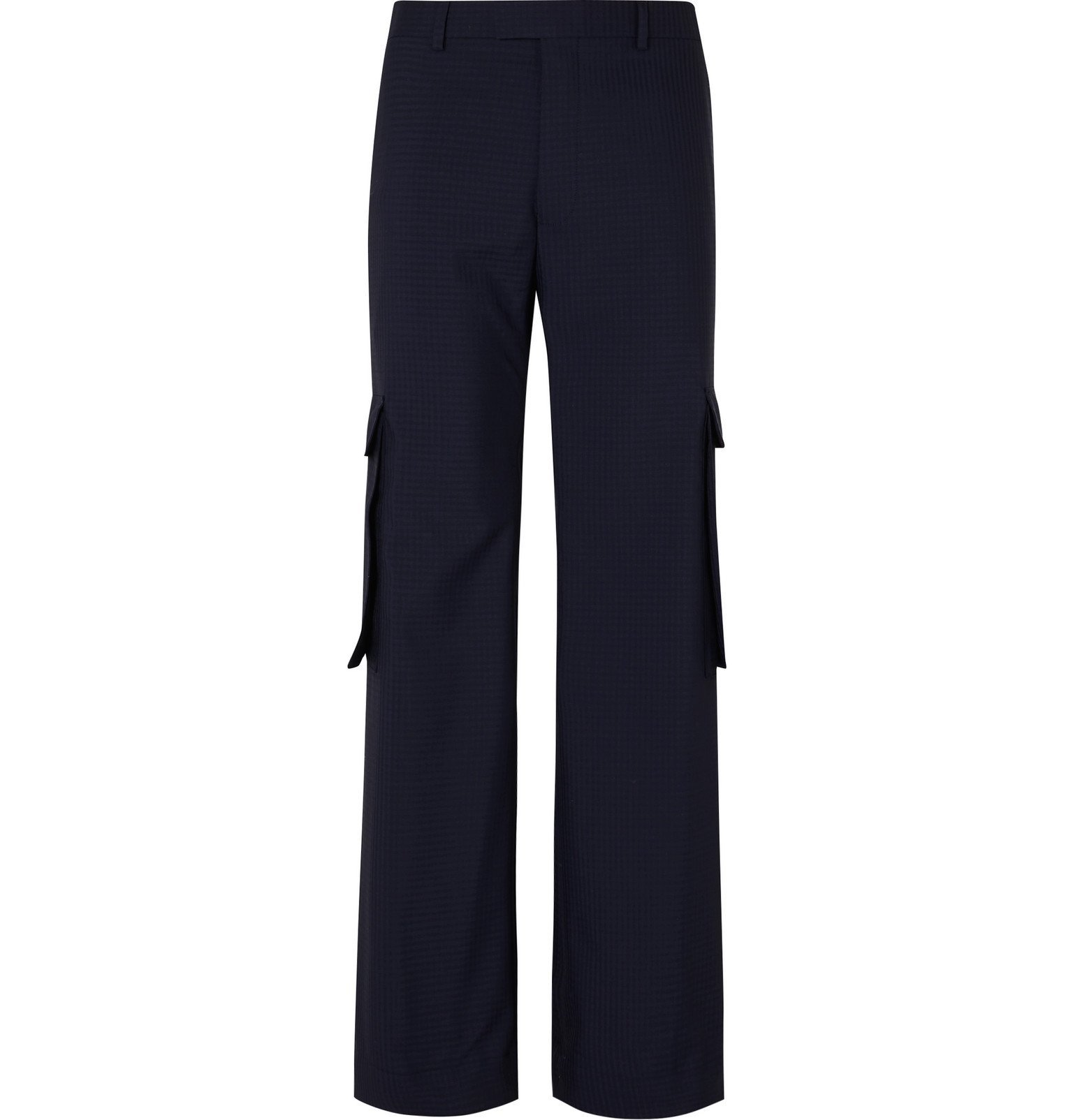 Martine Rose - Twill Cargo Trousers - Blue