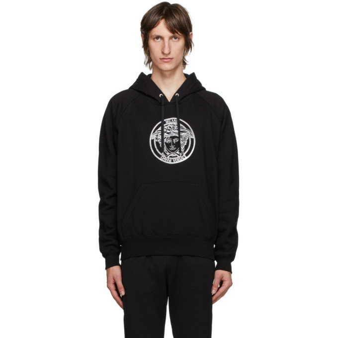 Photo: Versace Black Medusa College Hoodie