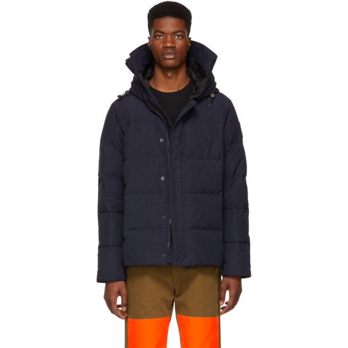 Photo: Canada Goose Blue Down MacMillan Parka
