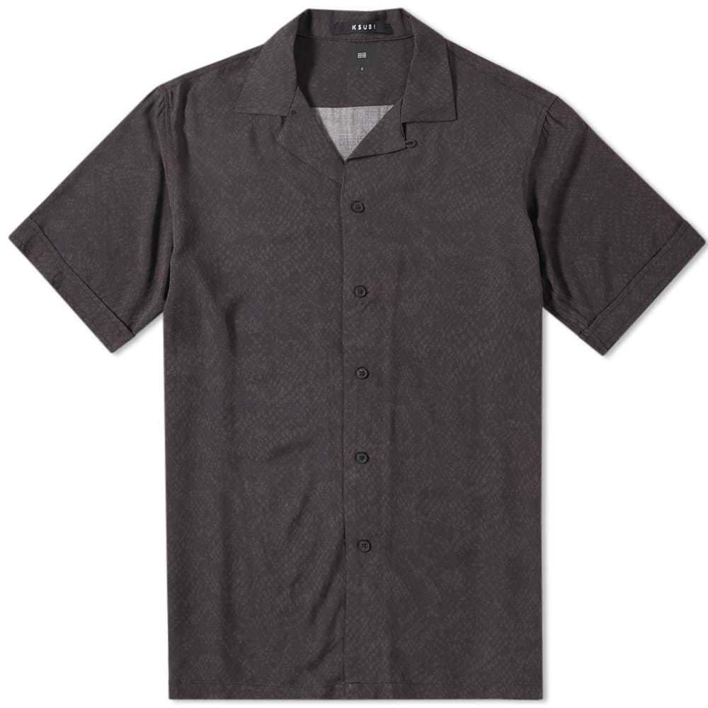 Ksubi Short Sleeve Kserpent Vacation Shirt Black