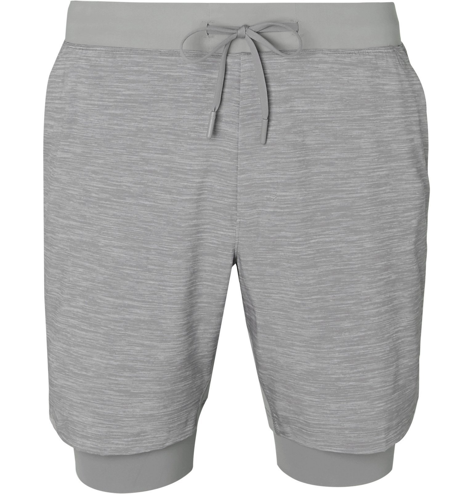 Photo: Lululemon - T.H.E. Mélange Swift Shorts - Gray
