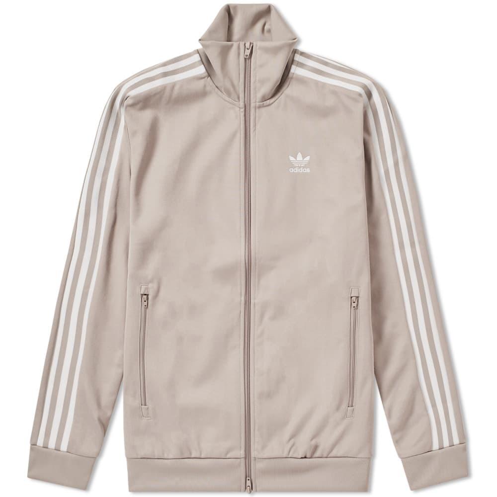 Adidas Beckenbauer Track Top Grey