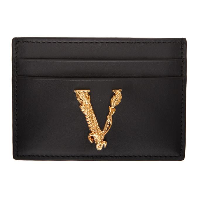 Photo: Versace Black Virtus Card Holder