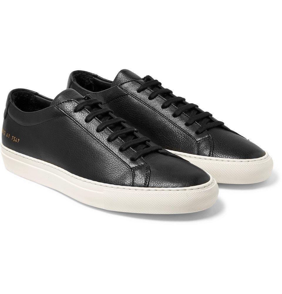 Common Projects - Original Achilles Full-Grain Leather Sneakers - Men - Black