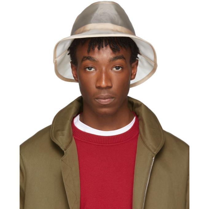 Photo: Fendi Beige Micro Mesh Bucket Hat