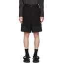 Sacai Black Combo Shorts