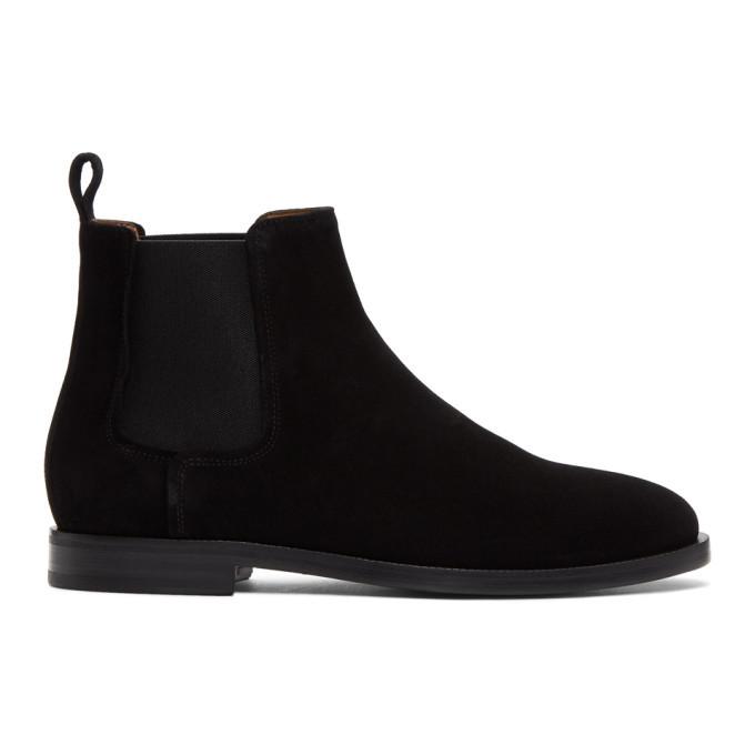 Photo: Lanvin Black Suede Chelsea Boots