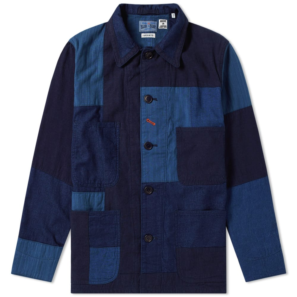 Photo: Blue Blue Japan Patchwork Coverall Jacket