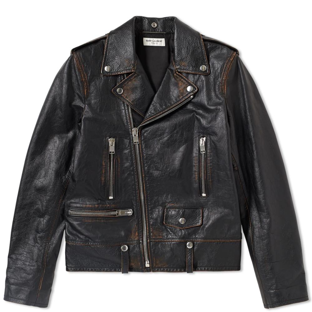 Photo: Saint Laurent Used Biker Jacket