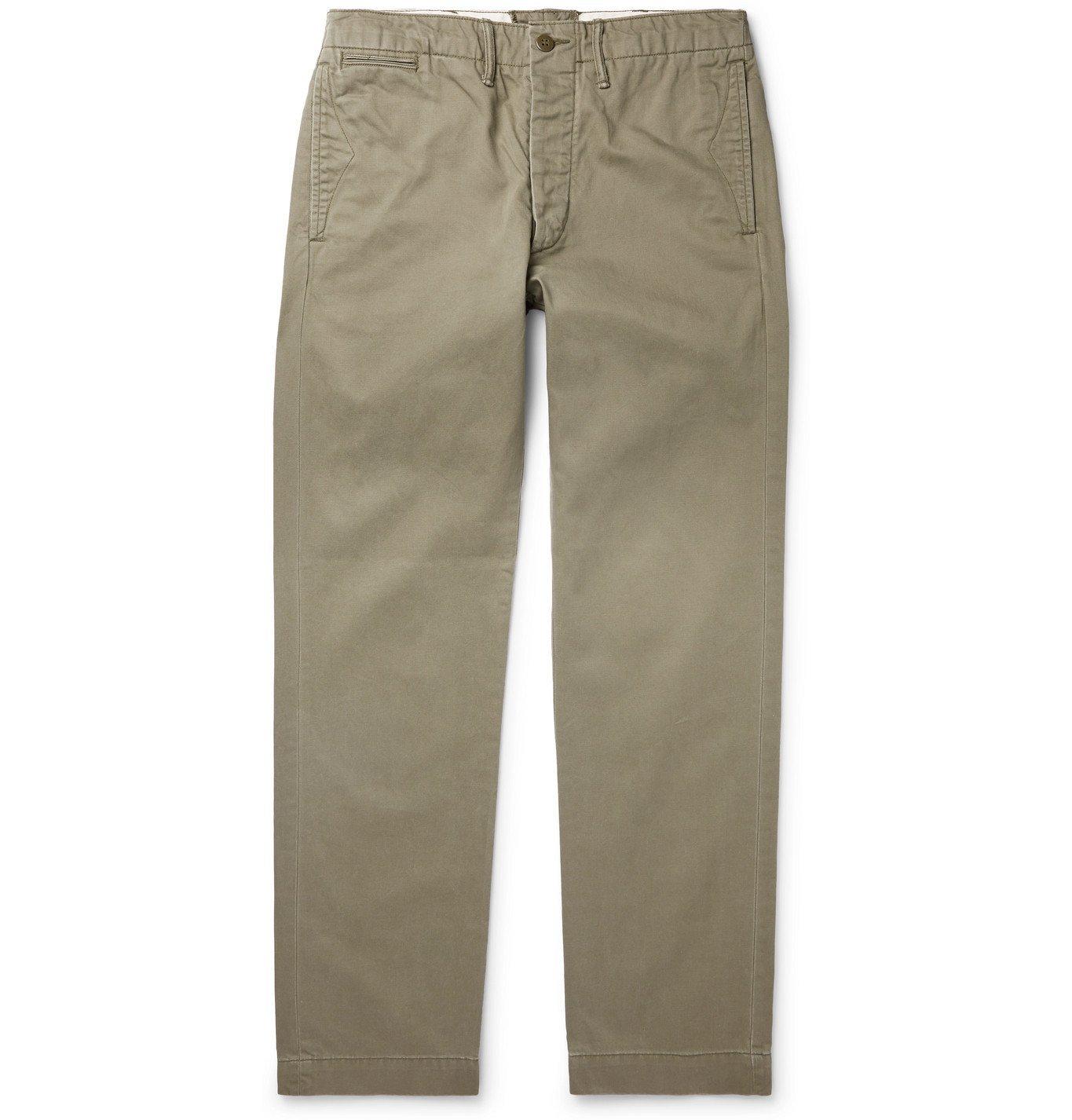 RRL - Cotton-Twill Chinos - Unknown