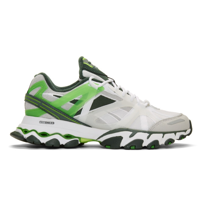 Photo: Cottweiler White Reebok Edition DMX Trail Shadow Sneakers