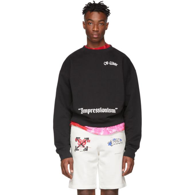 Photo: Off-White Black College Sweatshirt