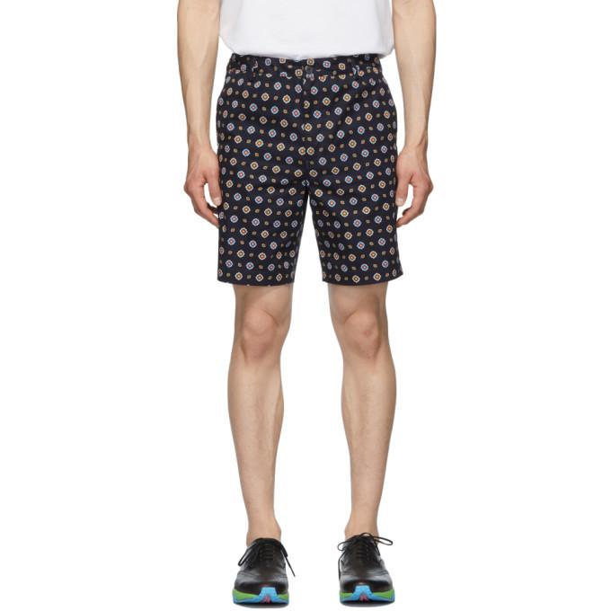 Photo: Kenzo Navy Medallion Shorts