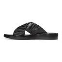3.1 Phillip Lim Black Ruched Sandals