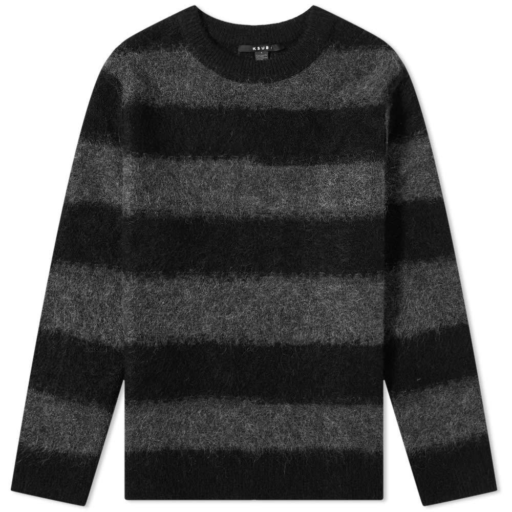 Ksubi Kingpin Striped Crew Knit