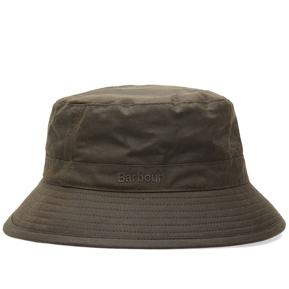 Photo: Barbour Wax Sports Hat Green