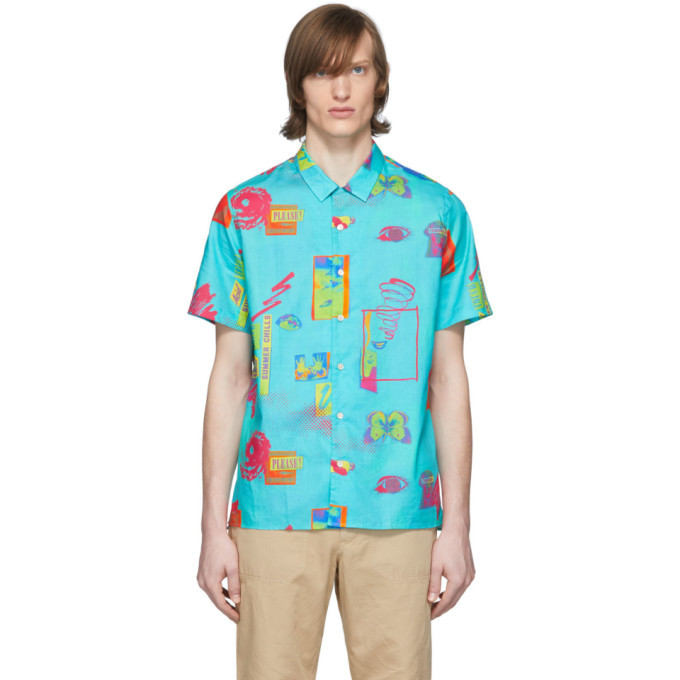 Photo: PS by Paul Smith Blue UP Short Sleeve Shirt