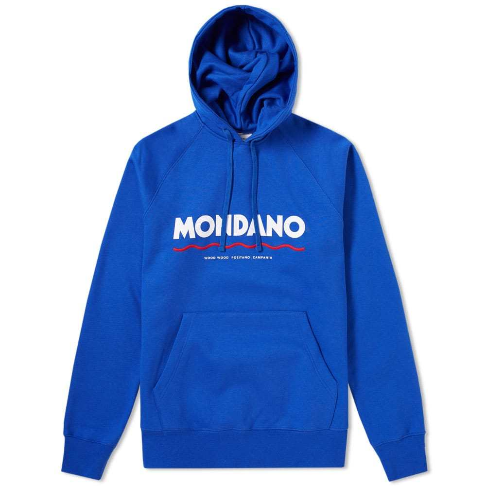 Photo: Wood Wood Raffi Mondano Hoody Blue