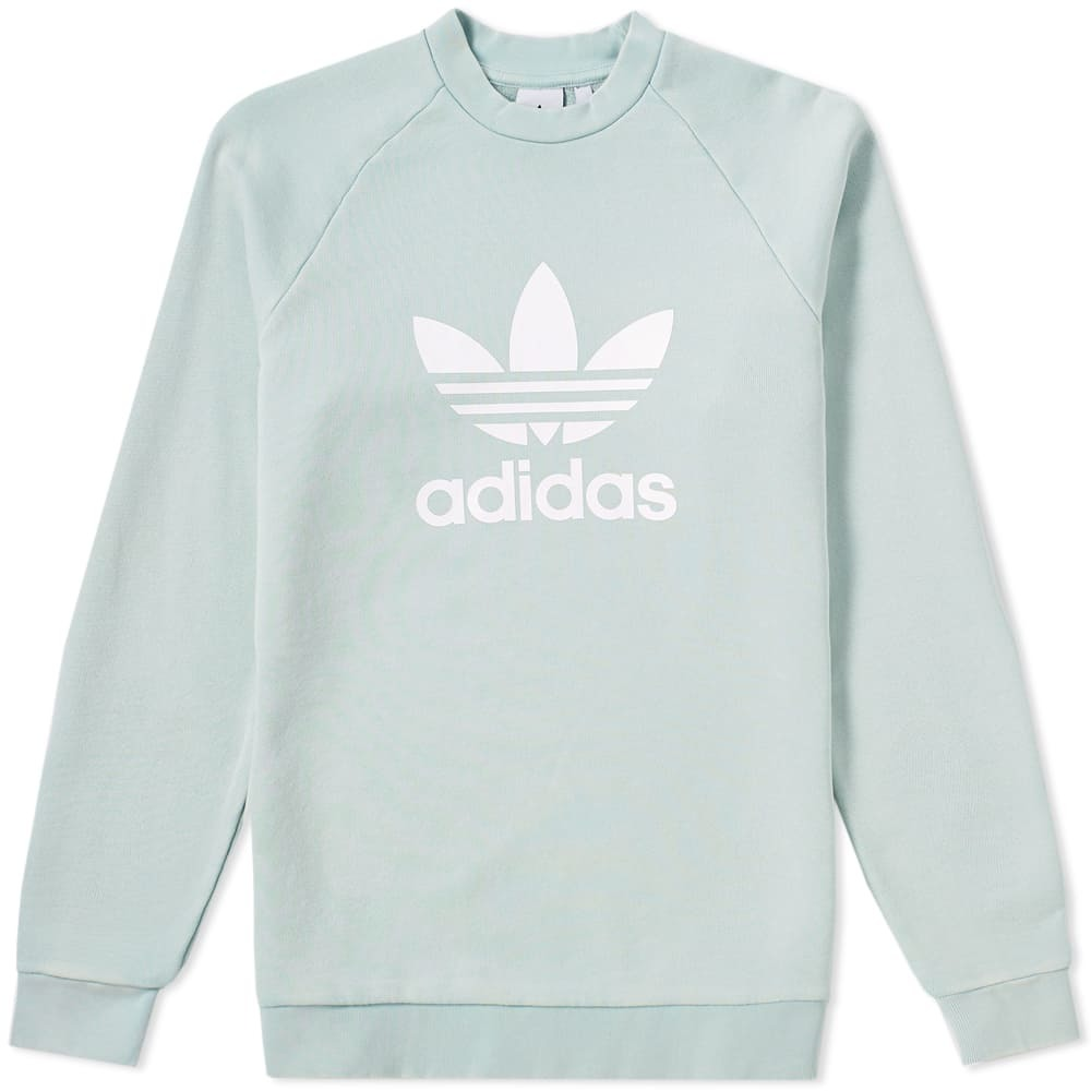 Adidas Trefoil Crew Sweat Green