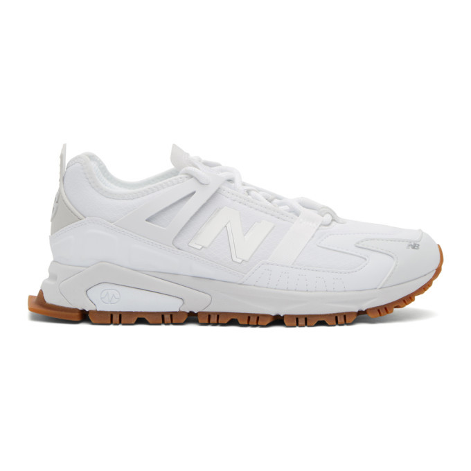 Photo: New Balance White XRCT Sneakers