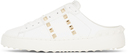 Valentino Garavani White Slide Open Sneakers
