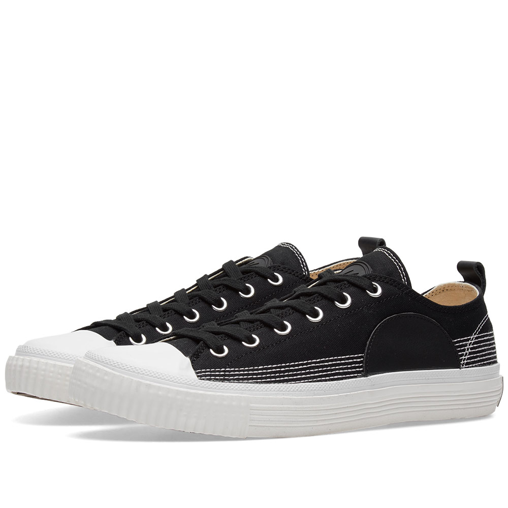 Photo: McQ by Alexander McQueen Canvas Low Plimsoll