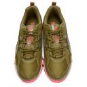 GmbH Khaki and Pink Asics Edition GEL-NANDI 360 Sneakers
