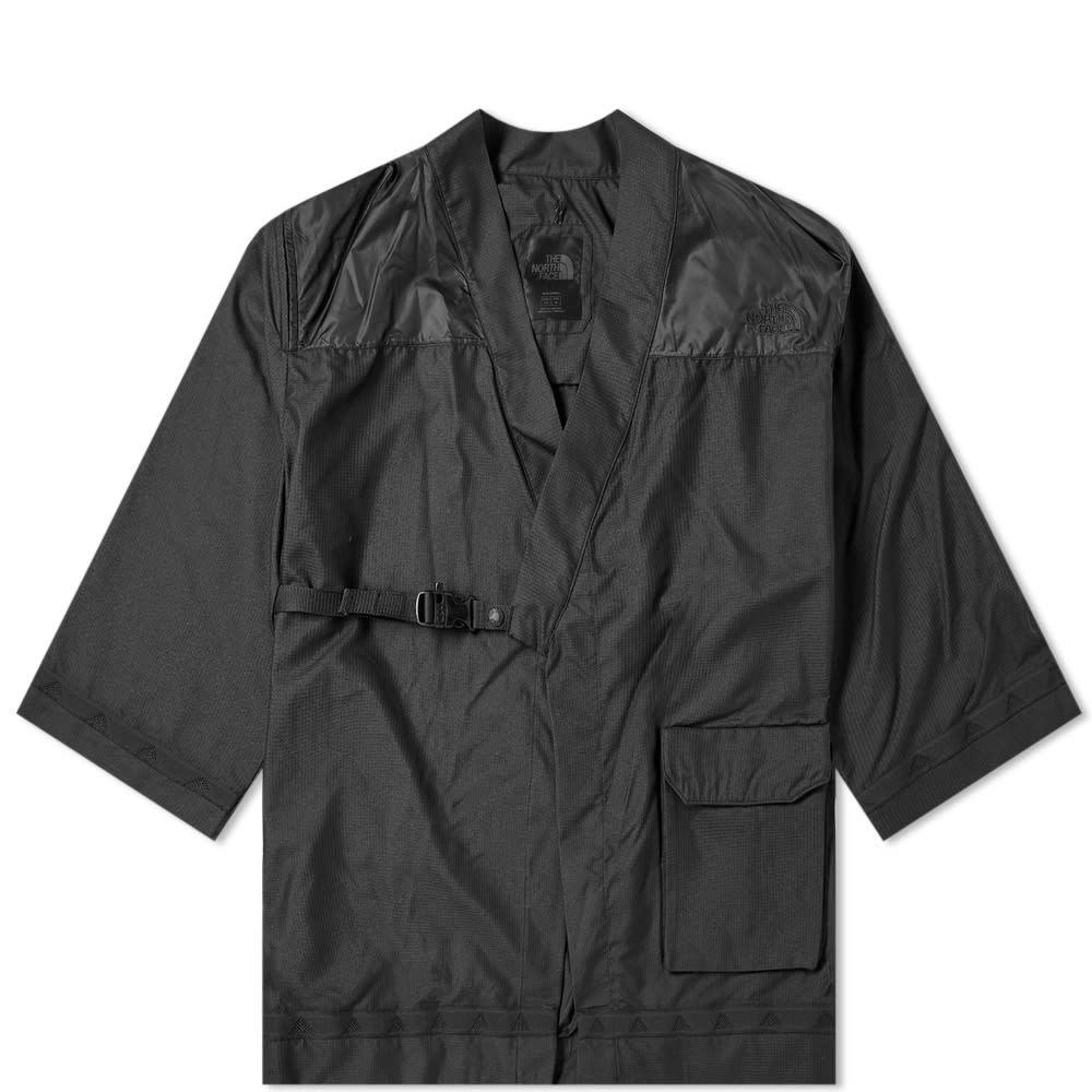 Photo: The North Face Black Series x Kazuki Kuraishi Urban Jinbei Dot Kimono Jacket TNF Black