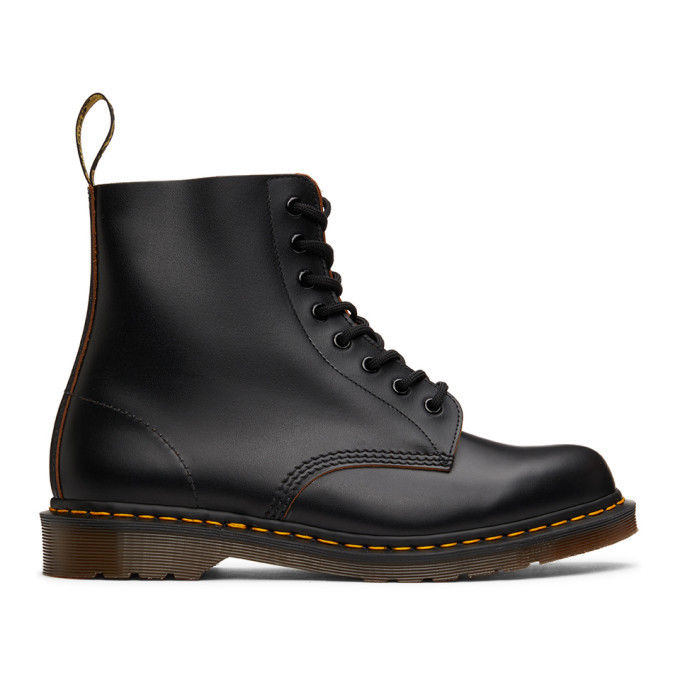 Photo: Dr. Martens Black Made In England 1460 Boots