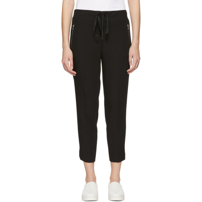 Bottega Veneta Black Wool Gabardine Trousers