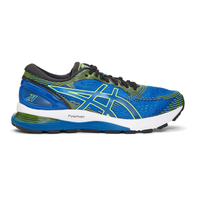 Asics Blue Gel-Nimbus 21 Sneakers